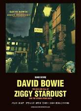 David Bowie Ziggy Stardust Japan Band Score Guitar Bass Tab Sheet Music Book