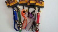 Collare elastico per gatti con swaroski e campanello - vari colori disponibili