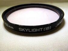 Hoya 52mm 1B Skylight Multi-Coated Lens Filter EOM Worldwide