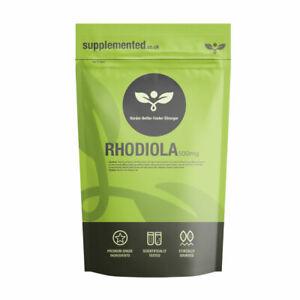 Rhodiola Estratto 500mg 180 Pillole Energia,Vigore,Sessuale Salute,Stress