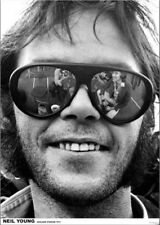 """Neil Young New A1 Size 84.1cm x 59.4cm - approx 33"""" x 24"""" Poster"""