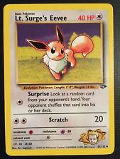 Pokemon!! Lt. Surge's Evoli Gym Challenge 51/132! Uncommon! Near Mint! EN!