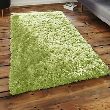 X Large Size Thick Plain Soft Shaggy 5cm PILE Living Room Rug Bedroom Floor Rugs