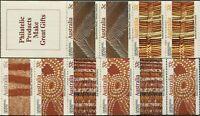 Australia booklet 1987 SG1093 Aboriginal Crafts both booklets MNH