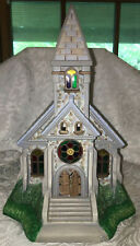 PartyLite Olde World Village Tealight House #2 The Church