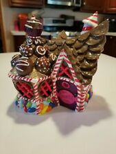 Christmas miniature fairy garden house Georgetown Candy Shoppe Sweets