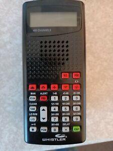Whistler WS1010 Analog Handheld Scanner 400-channel 10 separate memory banks