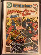 Super Team Family Presents Aquaman and Captain Comet #13 High Grade DC Comic