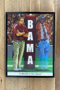 ALABAMA FOOTBALL START OF A NEW LEGACY PRINT 3D PICTURE