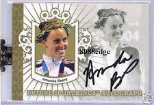 2007 SPORT KINGS AUTO GOLD - AMANDA BEARD /10 AUTOGRAPH USA OLYMPIC CHAMPION
