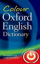 COLOUR OXFORD ENGLISH DICTIONARY. New Hardcover Book