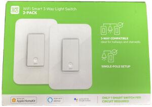 Wemo WLS0403-BDL Wi-Fi Light Switch 3-Way 2-Pack Bundle - Control Lighting