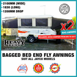 Bagged Bed End Fly Flys Suit Jayco Coromal Goldstream Golf Camper Trailers