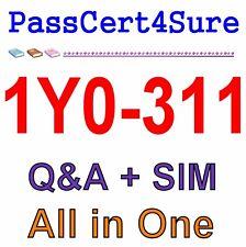 Citrix XenApp and XenDesktop 7.15 LTSR Advanced Admin 1Y0-311 Exam Q&A PDF+SIM