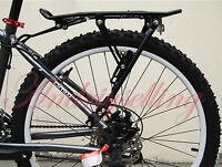Disc Mount Brake Road Mountain Bike Bicycle MTB Rear Rack Bag Pannier Carrier