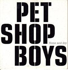 CD SINGLE promo PET SHOP BOYS home and dry EU 2002 1-TRACK