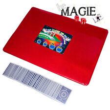 Tapis de magie ROUGE - 58 x 40 cm - Qualité VDF