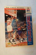 "NBA CARD - "" Finals Highlights "" - Bulls and Suns Re-write Records."