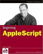 Beginning AppleScript (Paperback or Softback)