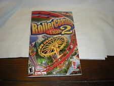 rollercoaster tycoon 2 instructions booklet paperback 2002