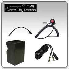 IMSA Racing Car Wiring Kit  BAOFENG + Velcro Mount PTT Switch + Radio Box