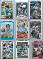 Detroit Lions Vintage Lot (30) Different w/ Rookies Landry Sims Hipple  Barney