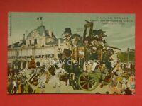 NIZZA NICE CARNEVAL 1912 Gardiens Louvre Francia old postcard vecchia cartolina