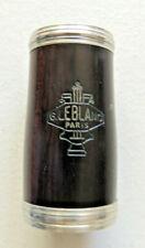 Vintage G. Leblanc Paris clarinete barril 60 Mm Buen Estado