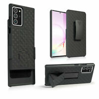 For Samsung Galaxy Note 20 Ultra 5G Holster Hard Case Cover Kickstand Belt Clip