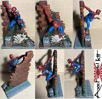 TOY BIZ - SPIDER-MAN UOMO RAGNO HAND PAINT STATUE PEZZO UNICO
