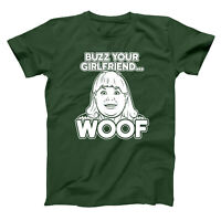 Buzz Your Girlfriend Woof Home Alone Filthy Animal Forest Green Men's T-Shirt