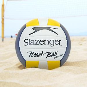 Slazenger Beach Ball Volleyball with Pump