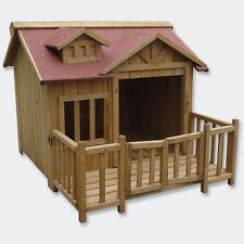 Cuccia cani in legno casa canile XL  porta balcone Terrazza