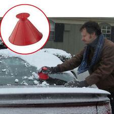 Car Windshield Ice Scraper Funnel Cone-Shaped Car Window Ice Snow Cleaner Tools