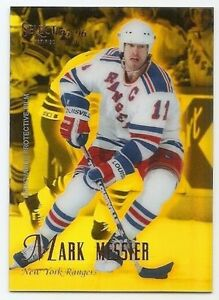 95/96 SELECT CERTIFIED MIRROR GOLD PARALLEL Hockey (#1-50) U-Pick From List