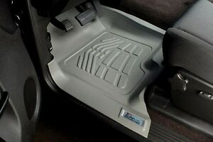 Front Sure-Fit Floor Mats: 2008-2011 Toyota Sequoia