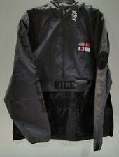 Rice Men's Black Reflective Windbreaker Size XL