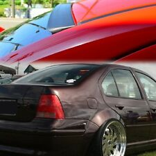UNPAINT FOR VW VOLKSWAGEN JETTA MK4 99-05 SEDAN REAR WINDOW WING ROOF SPOILER