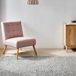 Popcorn Wool Blend Rug Large 180cm (L) x 133cm (W)/ 5.9ft For Home Decoration A.