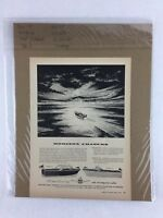Century Boat Horizon Chasers Vintage Art Collectible Advertisement 8.25 x 11.5