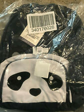 Pottery Barn Kids Mackenzie Large Backpack Critter Navy Panda NEW NO MONO