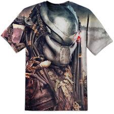 Camiseta para hombre arte Predator impresión yautja Xenomorph Nostromo tranquilícese Yutani Corp