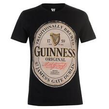 GUINNESS T-Shirt Distressed Logo - Taglia L - OFFICIAL MERCHANDISE