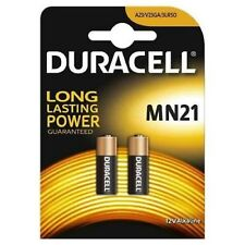 Duracell MN21 A23 12V Security Alkaline Battery 23A LRV08 Expiry 2020