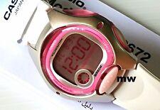 Casio Ladies Kids Digital Watch LW-200-7A Alarm Stopwatch White Rubber Quartz