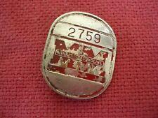 Vintage Minneapolis Moline Employee Badge Pin, Factory Tractors, 2759, Orignal