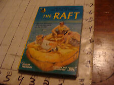 Original paperback book: THE RAFT robert Trumbull Pyrmid #38, 1951, 160pgs