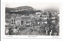Tetuan Africa Spain Plaza de Espana Ediciones Arribas no 12  Real Photo Postcard