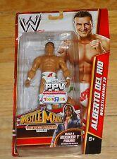 2013 WWE WWF Mattel Alberto Del Rio Wrestling Figure MIP MOC Booker  T Legs AAA