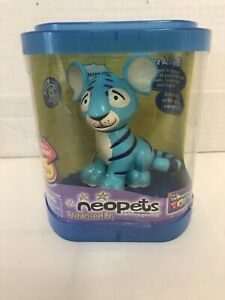 Neopets Blue Kougra Interactive Voice Activated Electronic Pet 2002 Thinkway